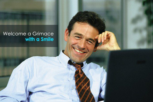 Welcome a Grimace with a Smile